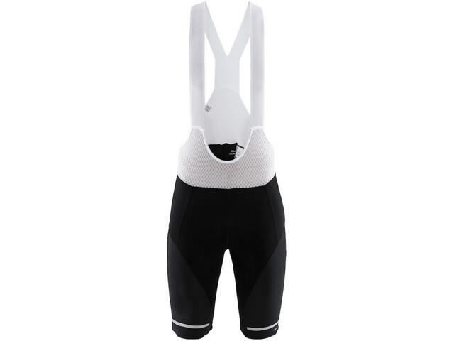 Craft Hale Bib Shorts Men black/white